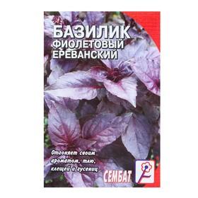 Семена Базилик фиолетовый Ереванский, 0,2 г Ош