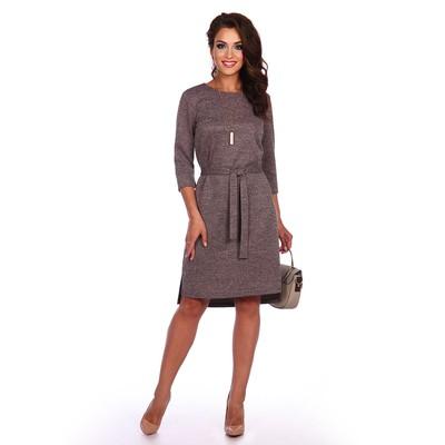 Платье женское «Жанетта», цвет бежевый, размер 52