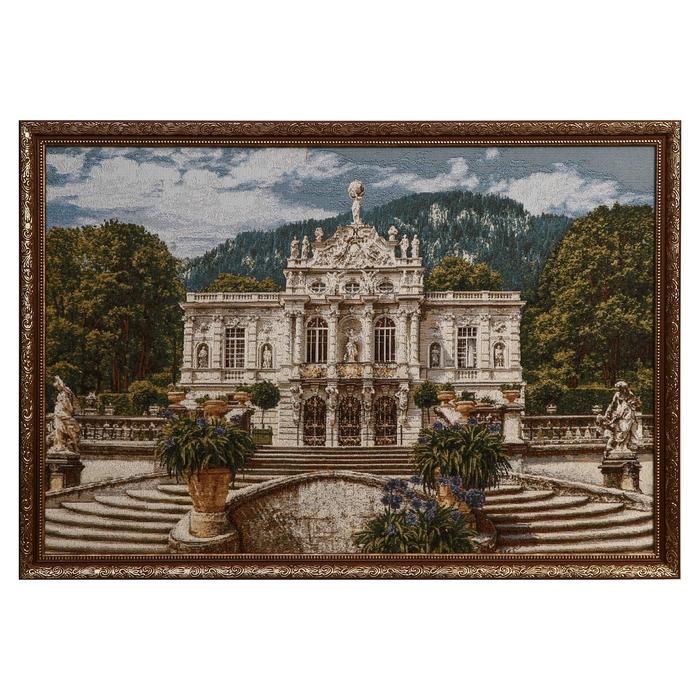 "Гобеленовая картина ""Белый замок"" 51х78 см"