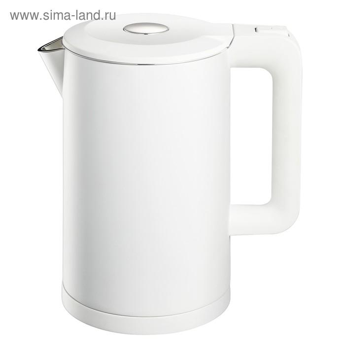 Чайник электрический REMENIS REM-5800, 2000 Вт, 1.7 л, пластик, белый