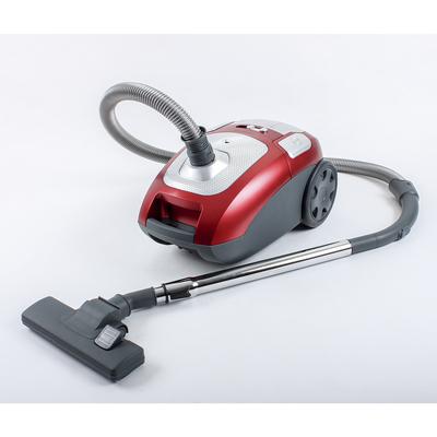 Пылесос REMENIS REM-4501, 2600 Вт, всасывание 520 Вт, мешок, чёрно-красный
