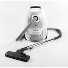 Пылесос REMENIS REM-4502, 2600 Вт, всасывание 520 Вт, мешок, чёрно-белый