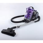 Пылесос REMENIS REM-4551, 2600 Вт, всасывание 540 Вт, мультициклон, 3.5 л, фиолетовый