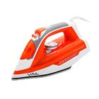 Утюг VAIL VL-4007, 2800 Вт, паровой удар, керамическая подошва, оранжевый
