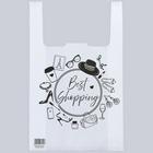 Пакет-майка Shopping 28/10 × 45 см