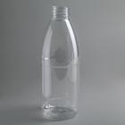 Бутылка одноразовая молочная «Универсал», 1 л, с широким горлышком 0,38 мм, 100 шт/уп, цвет прозрачный