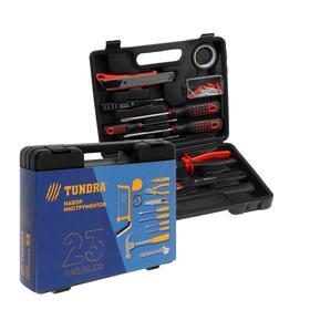 Набор инструментов в кейсе TUNDRA '23 Февраля', подарочная упаковка, 12 предметов Ош