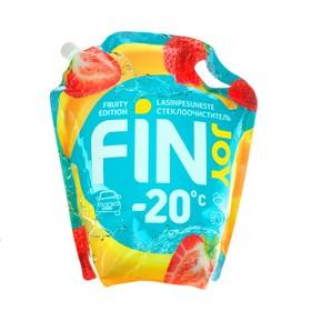 Незамерзающий очиститель стёкол FIN JOY FRUITY банан-клубника, -20 С, 4 л Ош