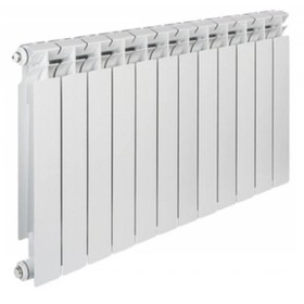 Радиатор алюминиевый TENRAD, 500 x 80 мм, 12 секций