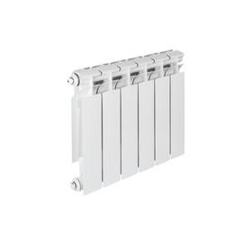 Радиатор биметаллический TENRAD, 350 x 80 мм, 6 секций