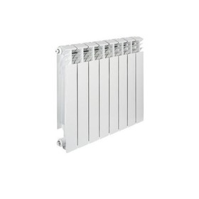 Радиатор биметаллический TENRAD, 350 x 80 мм, 8 секций