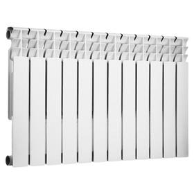 Радиатор биметаллический TENRAD, 350 x 80 мм, 12 секций