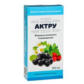 Бальзам медово-растительный альпина «Актру» формула активного пищеварения, 250 мл