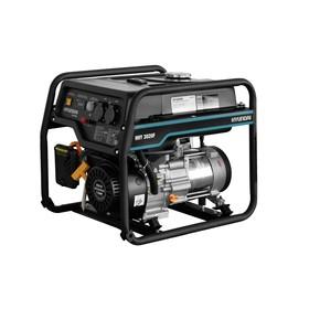 Генератор бензиновый Hyundai HHY 3020F, 3.1 кВт, 220 В, 208 см3, ручной стартер, медь