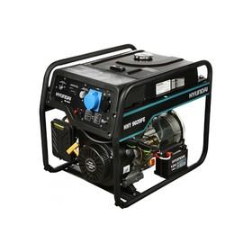 Генератор бензиновый Hyundai HHY 9020FE, 6.5 кВт, 220 В, 4-тактный, ручной/электростартер