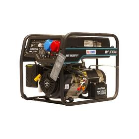 Генератор бензиновый Hyundai HHY 9020FE-T, 6.5 кВт, 220/380 В, ручной/электростартер