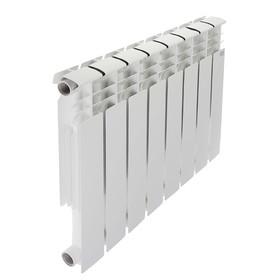 Радиатор алюминиевый STI, 500 х 80 мм, 8 секций