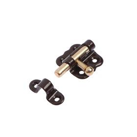 Задвижка накладная ЗТ-2-30, полимер коричневый, 200 шт Ош