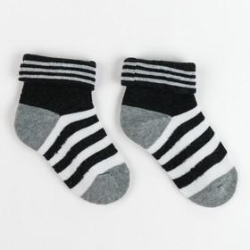 Носки детские махровые Ftа-125-L-14 2; цвет серый, р-р 14-16