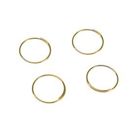Кольцо для набора Ecola 'Сделай сам Хрустальный светильник', не менее 190 шт, золото Ош