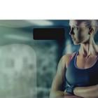 """Весы напольные DELTA D-9222/1, электронные, до 180 кг, 2хААА, стекло, картинка """"фитнес"""" - Фото 2"""