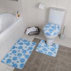 комплекты ковриков для ванной и туалета