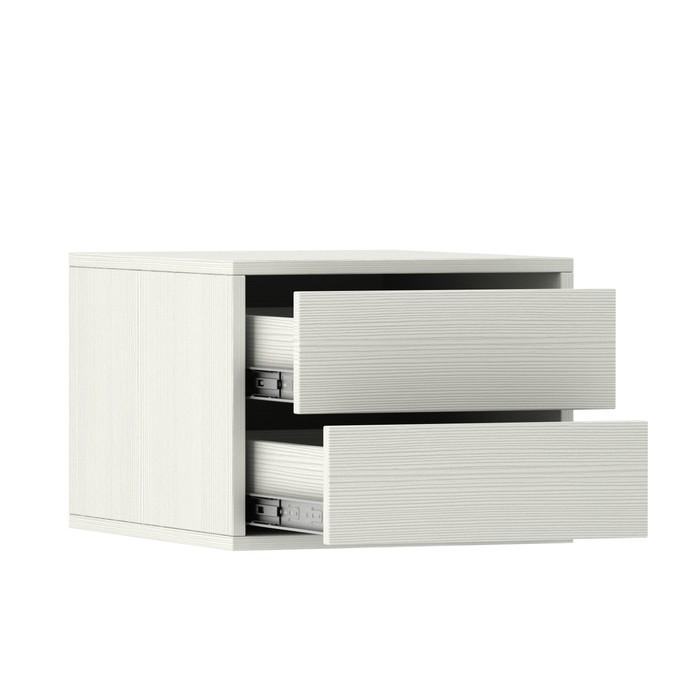 Блок ящиков для шкафов-купе 1000 × 600 мм и 1500 × 600 мм, цвет выбеленное дерево