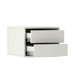 Блок ящиков для шкафов-купе 1200 × 600 мм и 1800 × 600 мм, цвет выбеленное дерево Ош