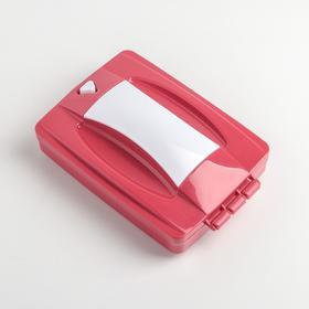 Щётка для уборки роликовая, 2 ролика, 17,5×11,4×4,9 см, цвет МИКС