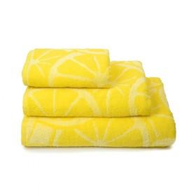 Полотенце махровое Lemon color, 50х90 см, цвет жёлтый