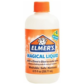 Активатор для слаймов 258 г Elmers Magic Liquid, 4 слайма