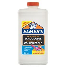 Клей ПВА 1000 г Elmers School Glue, для 7-8 слаймов