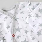 Комбинезон-слип «Звёзды меланж», рост 50-56 см, 2 шт. - Фото 3