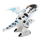 Робот-игрушка «Динозавр тиранобот», стреляет, свет, звук, работает от батареек - Фото 3
