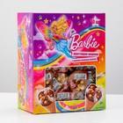 """Хрустящие шарики с кремом шоколад-молоко """"Barbie"""" в шоу-боксе, 18 г"""