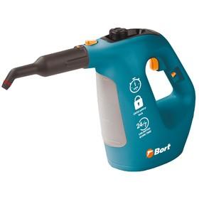 Пароочиститель Bort BDR-1500-RR, 1500 Вт, 35 г/мин, 0.35 л, синий Ош