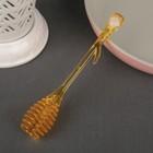 Ложка для мёда и джема, 20×8 см, цвет МИКС