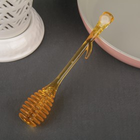 Ложка для мёда и джема, 20×8 см, цвет МИКС Ош