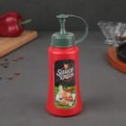Ёмкость для соуса 550 мл, цвет красный