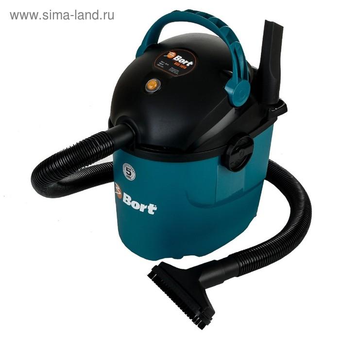 Пылесос Bort BSS-1010, 1000 Вт, всасывание 220 Вт, сухая и влажная уборка, 10 л,синий