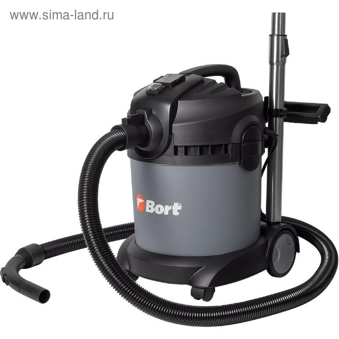 Пылесос Bort BAX-1520-Smart Clean, 1400 Вт, всасывание 300 Вт, 20 л, серый