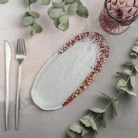 Блюдо для подачи овальное «Шокли», 23,5×11 см