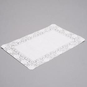 Салфетка для торта, прямоугольная, 20 х 30 см Ош