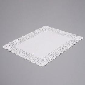 Салфетка для торта, прямоугольная, 35 х 45 см Ош