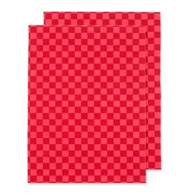 Коврики влаговпитывающие Autoprofi 38х50, красный, набор 2 шт Ош
