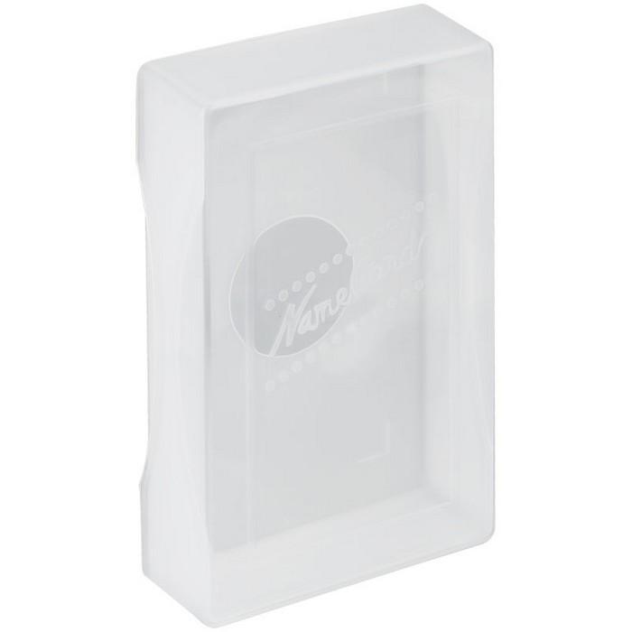 Коробка для визиток  прозрачная, Стамм, 60 х 98 х 19 мм, ВТ30