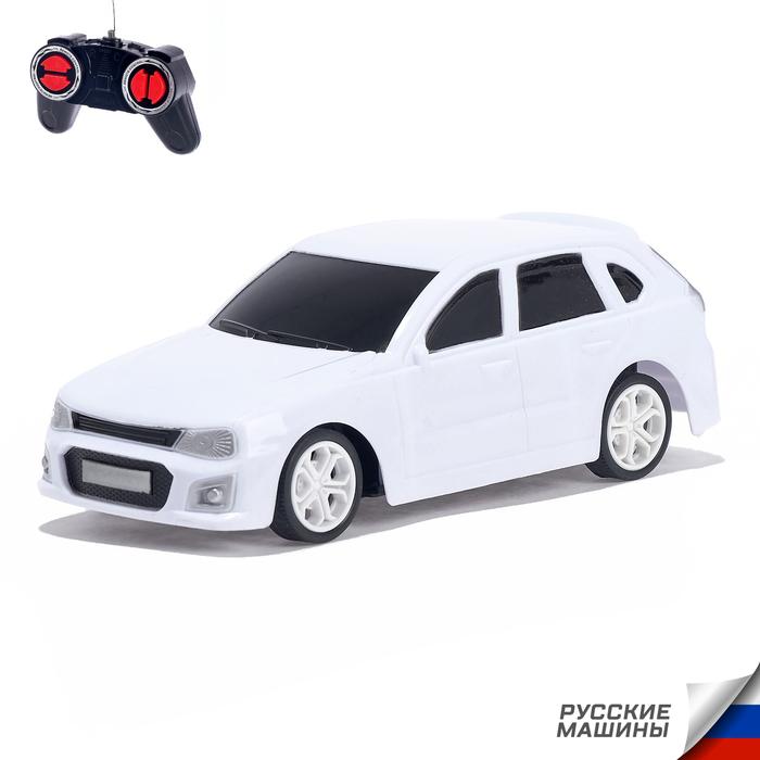 Машина радиоуправляемая «RUS Авто - Классика», цвет белый