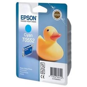 Картридж струйный Epson C13T05524010 голубой для Epson RX520/R240