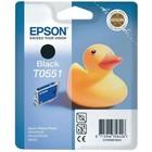 Картридж струйный Epson C13T05514010 черный для Epson RX520/R240