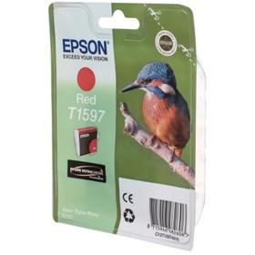 Картридж струйный Epson C13T15974010 красный для Epson St Ph R2000